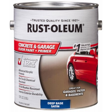 Rust-Oleum 2 Packs GAL Deep Paint/Primer (Concrete Floor Paint)