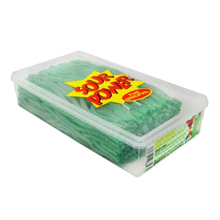 Sour Green Apple - Sour Power Straws - Green Apple, 200 count
