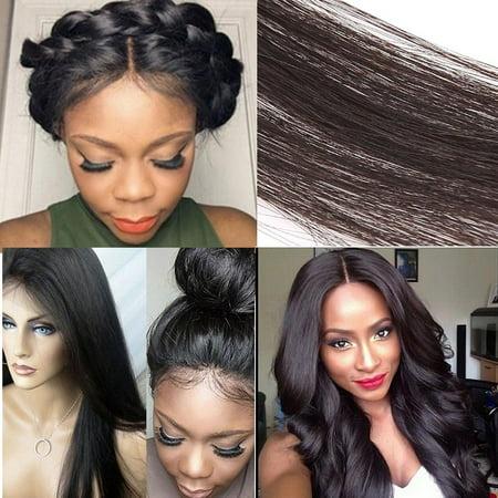 Straight Chemical Fiber Hair Extension Wig Fsbr Walmart