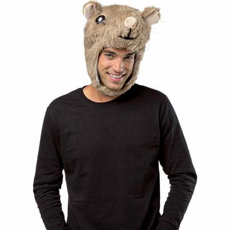 Hamster Laplander Head Adult Halloween - Hampster Costume