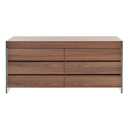 Casabianca Home IL Vetro 6 Drawer Dresser