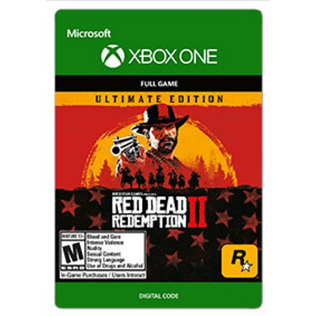 Red Dead Redemption 2 Ultimate Edition, Rockstar Games, Xbox, [Digital