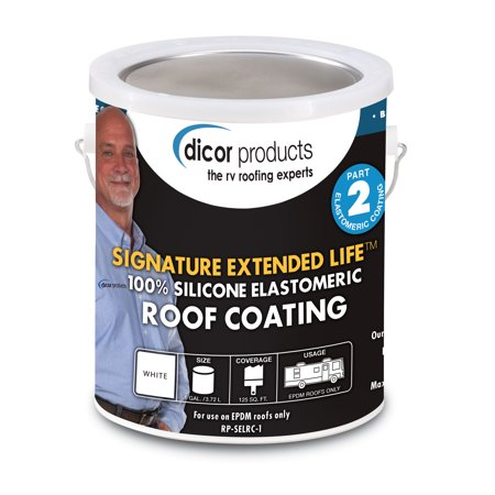 - Dicor Corporation RP-SELRC-1 Roof Coating Extended Life