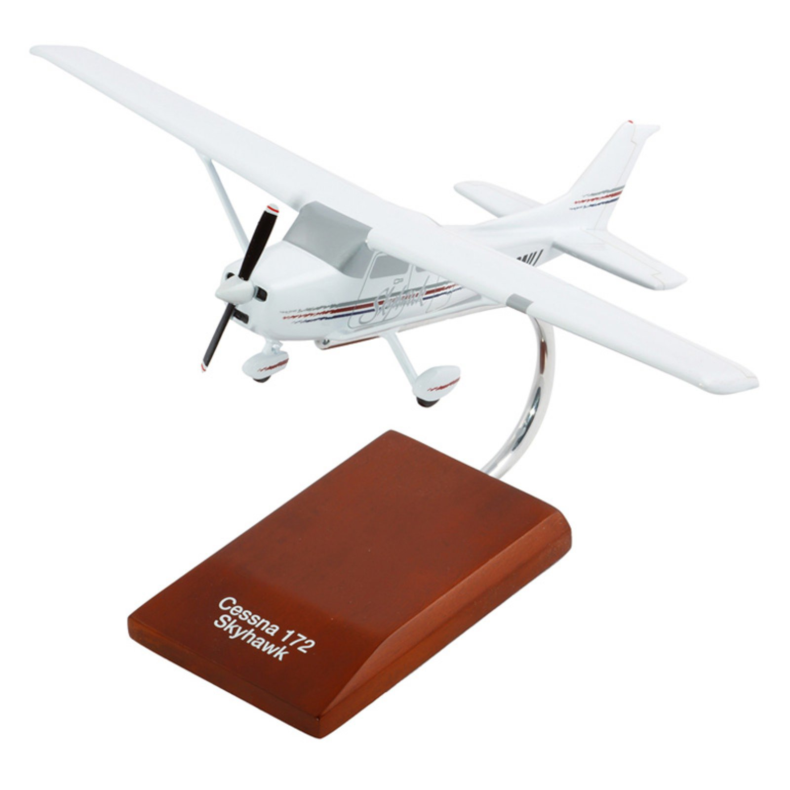 Daron Worldwide Cessna Model 172 Modern Skyhawk Model Airplane by Toys and Models Corp