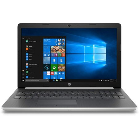 "HP 15 Home Office Laptop Silver (Intel i7-8565U 4-Core, 12GB RAM, 256GB SSD, 15.6"" Touch HD (1366x768), Intel UHD 620, Wifi, Bluetooth, Webcam, 2xUSB 3.1, 1xHDMI, SD Card, Optical Drive, Win 10 Home)"