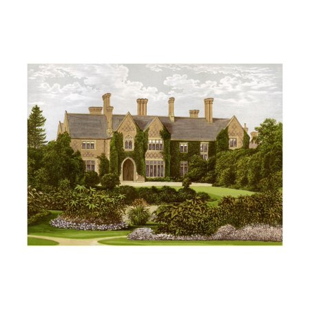 Staffordshire Toby (Oxley Manor, Staffordshire, Home of the Staveley-Hill Family, C1880 Print Wall Art By AF)