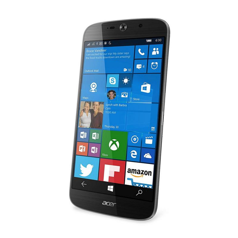 Acer Jade Primo 32GB GSM 4G LTE Windows Smartphone Business Bundle (Unlocked) - Black
