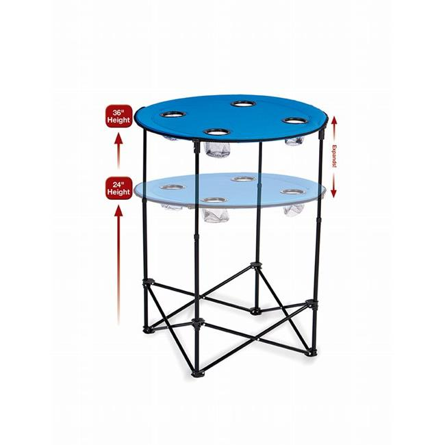 Picnic Plus PSM-104L Scrimmage Tailgate Table - Royal