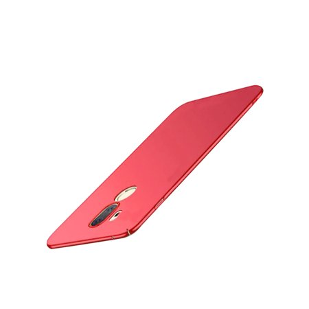 LG G7 Frosted PC Hard Cover Case - Red - image 1 de 1