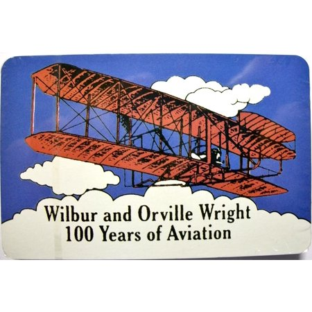 Aviation Card - Wilbur and Orville Wright 100 Years of Aviation Souvenir Playing Cards