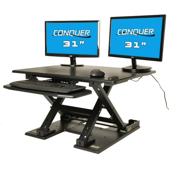 Treadmill Desk Riser: Motorized Standing Desk Electric Sit To Stand Ergonomic