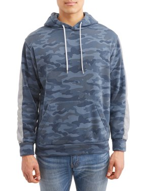 dc444701b9 Product Image Men s Camo Print Fleece Hood with Kangaroo Pocket