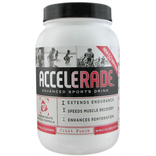 Pacific Health Labs Endurox Accelerade Advanced Sports Drink Fruit Punch - 4.11 Lbs,