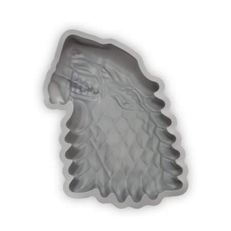 House Cake - Game Of Thrones Silicone Cake Pan | Official House Stark Dire Wolf Cake Mold
