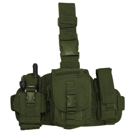 - Condor MA25 Tactical Utility Leg Rig MOLLE Pouch - OD Green