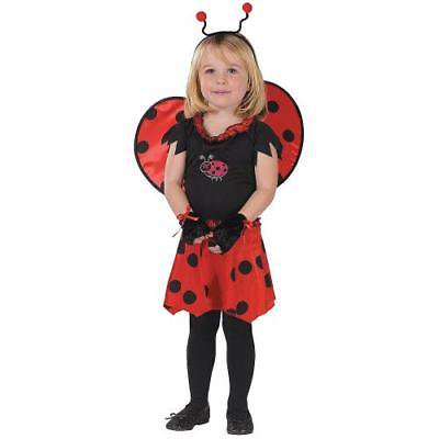 IN-MC1157TD2 Girls Sweetheart Lady Bug Halloween Costume for Toddler TODDLER 2T for $<!---->