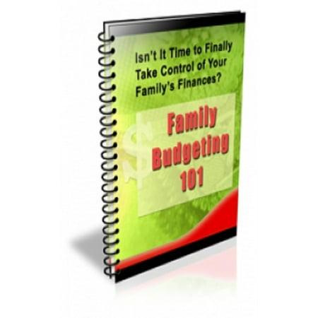Family Budgeting 101 - eBook - Budget 101 Halloween