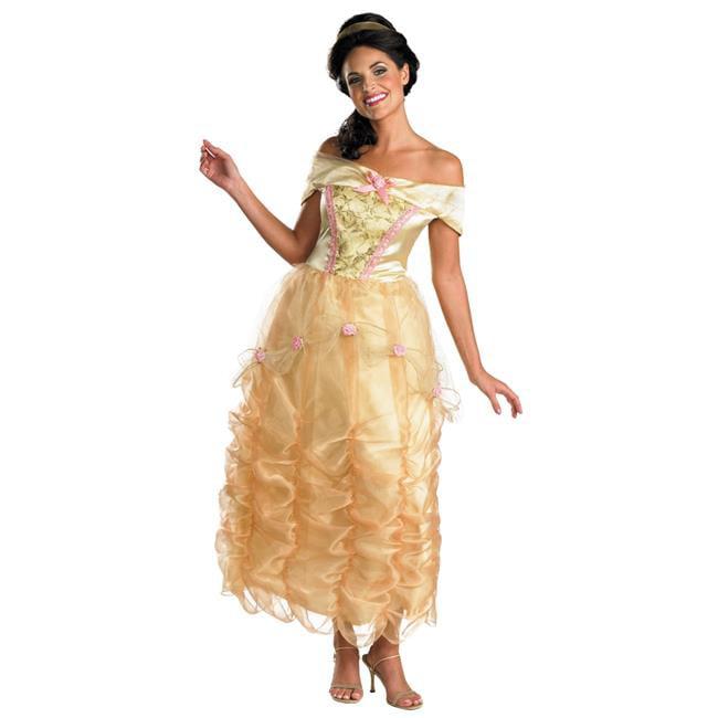 Morris Costumes DG50501N Belle Adult Deluxe Costume, Size 4-6