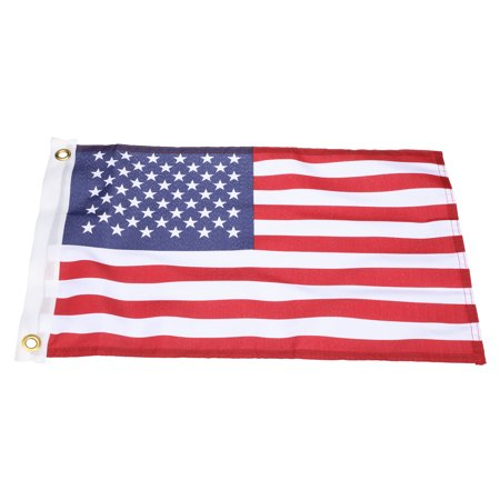 Nylon California State Flag - Seachoice 78201 Print-Dyed Marine Grade Nylon United States Flag - 12 x 18 Inches