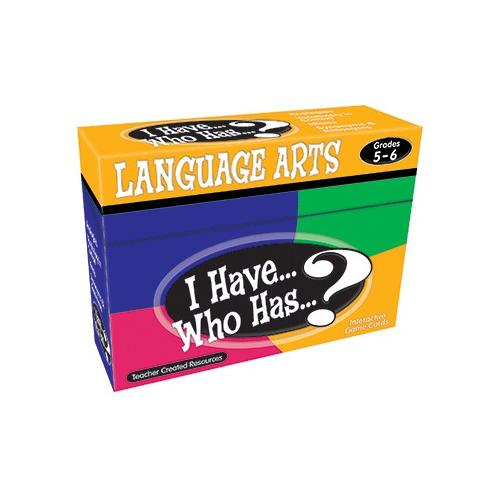 I HAVE WHO HAS LANGUAGE ARTS GR 5-6 SCBTCR7832-6 (pack of 6)