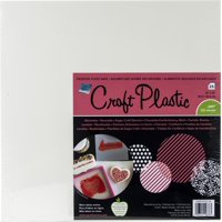"Grafix Foodsafe Craft Plastic Sheets 12""X12"" 25/Pkg-Frosted .005"