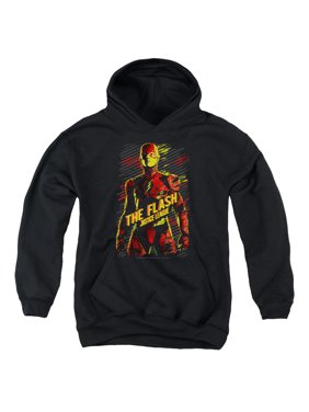 Justice League Movie - The Flash - Youth Hooded Sweatshirt - X-Large