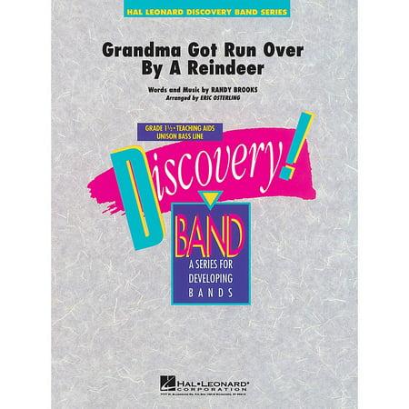 Hal Leonard Grandma Got Run Over by a Reindeer Concert Band Level 1.5 Arranged by Eric