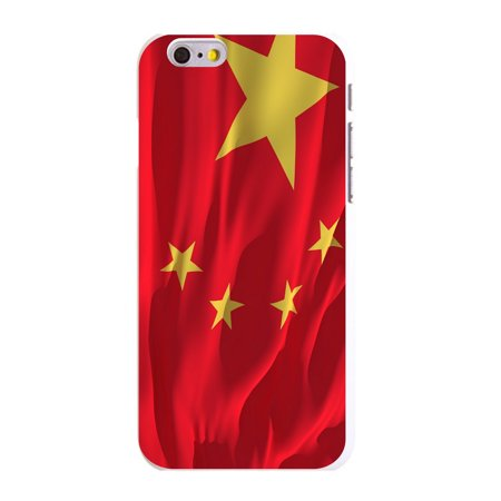 Cafe China - CUSTOM White Hard Plastic Snap-On Case for Apple iPhone 6 / 6S (4.7