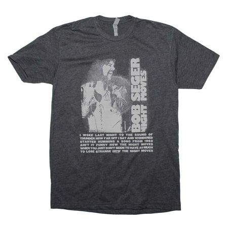FEA Bob Seger Night Moves Soft Graphic Short Sleeve T-shirt