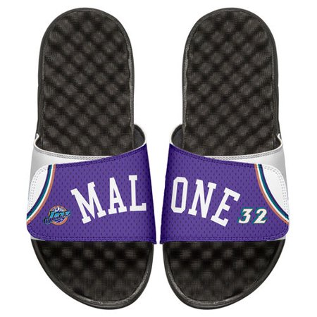 Men's ISlide Utah Jazz Karl Malone Retro Jersey Slide