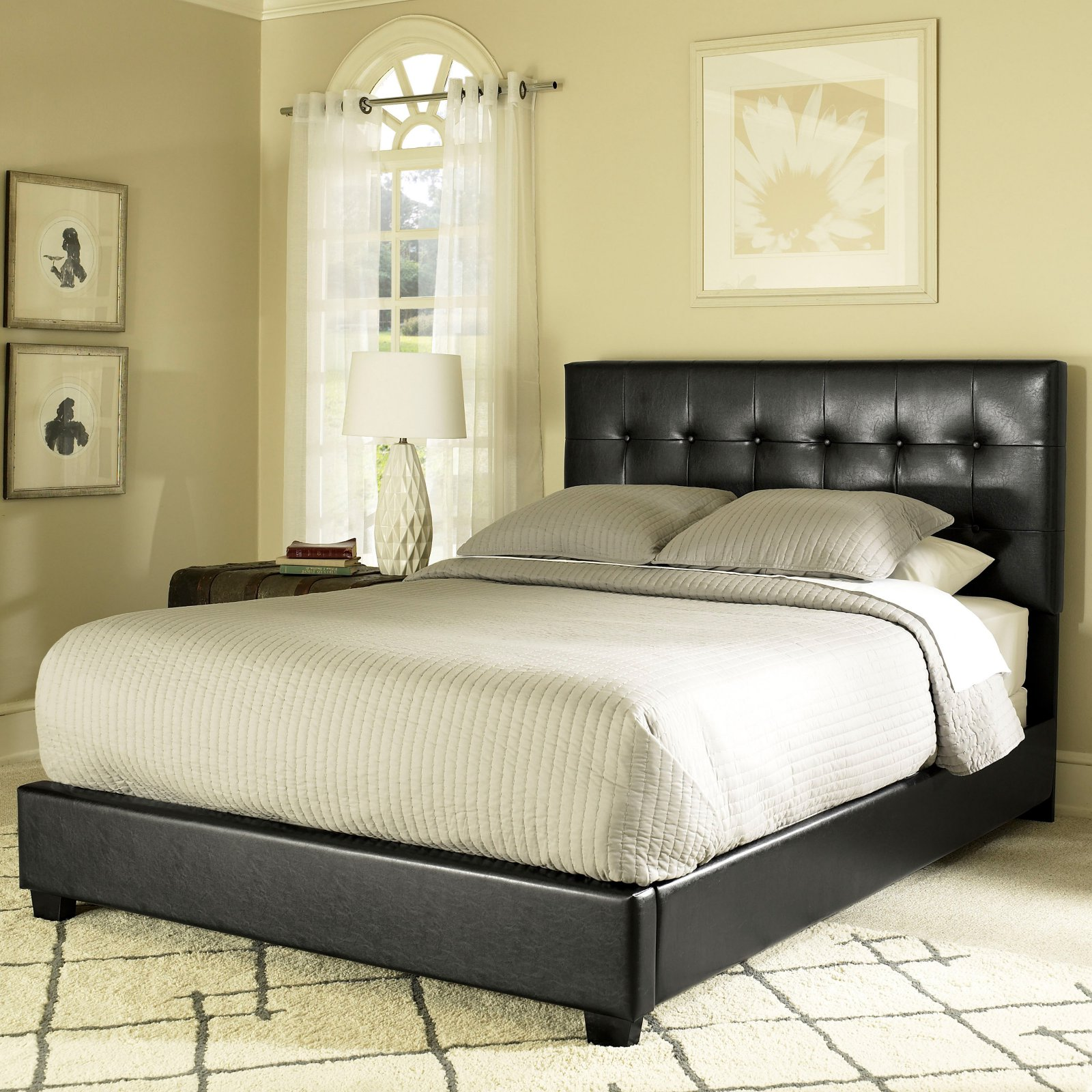 Crosley Furniture Andover Queen Bed In Black