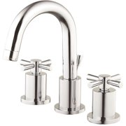 Belle Foret FW0CD206CP Modern 8 in. Widespread 2-Handle High-Arc Bathroom Faucet in Chrome