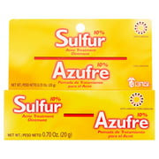(2 pack) Grisi Sulfur Acne Treatment Ointment