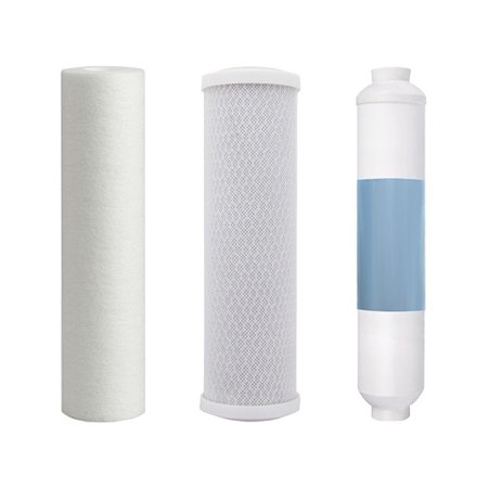 Filter Kit For Aqua Flo 4 Stage RO System (Single Pack) Replacement RO Filter
