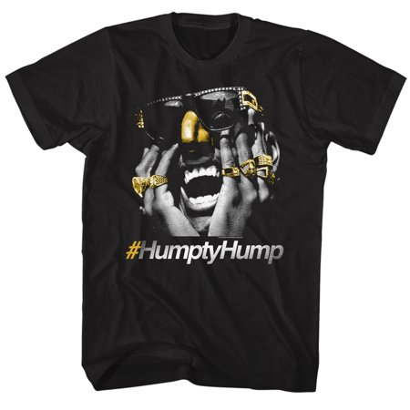 Digital Underground Hashtag Humpty Hump Gold Bling Nose Rings Adult T Shirt Tee