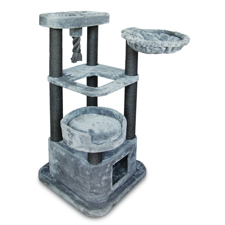 Best Pet Supplies CTF02 Cat Tree Cat Condo, 52