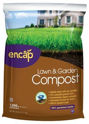 Encap 11177-24 Lawn & Garden Compost, 18-Lb. by ENCAP LLC