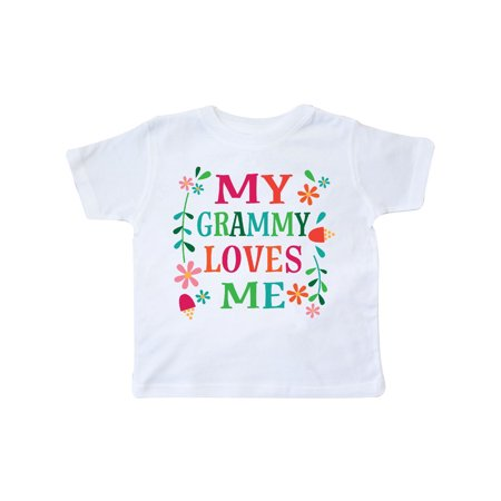 My Grammy Loves Me Girls Gift Apparel Toddler T-Shirt (Love Me Not Clothing)