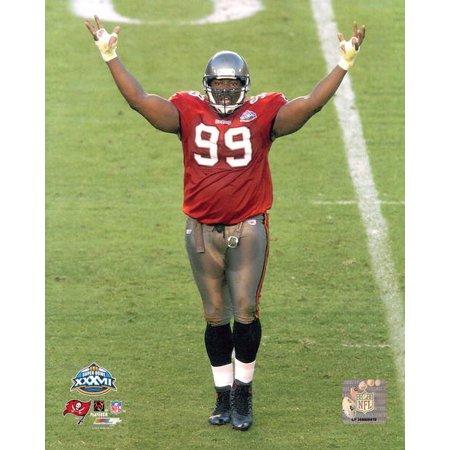 Warren Autographed Photograph (Warren Sapp Super Bowl XXXVII Photo Print)