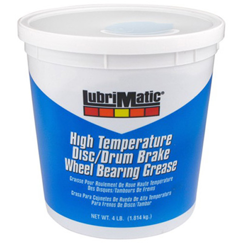 Plews 11382 LubriMatic Greases, Oils & Lubricants - Hi-Temp Disc/Drum Wheelbearing Grease / 4 lb.