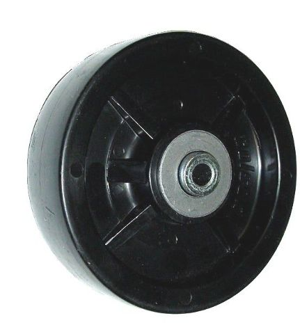 """Colson 3 Series Polyolefin 5"""" x 1-1/2"""" Wheel with 3/8"""" Bearing Spanner 700# Cap"""