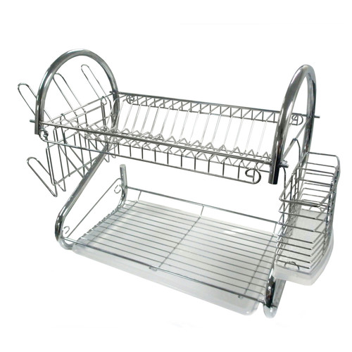 Better Chef DR-22 22-Inch Chrome Dish Rack by Supplier Generic