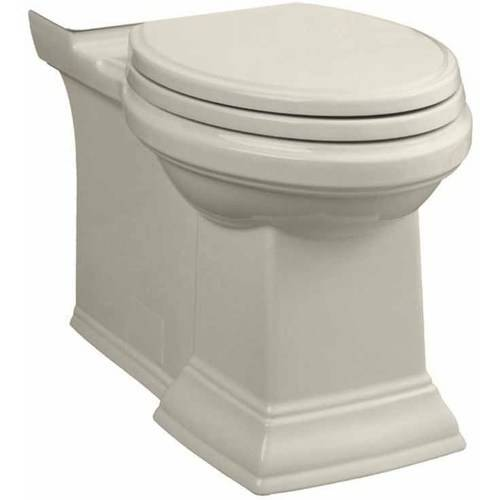 American Standard 3071.000.020 Town Square Elongated Right-Height Bowl with Seat, Available in Various Colors