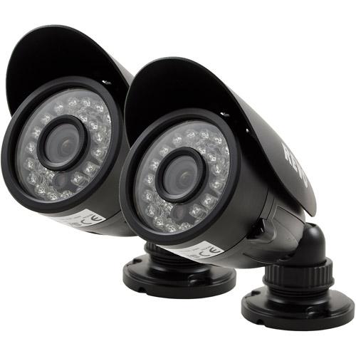 Revo 700 TVL Indoor/Outdoor Bullet Surveillance Camera with 100' Night Vision, 2pk