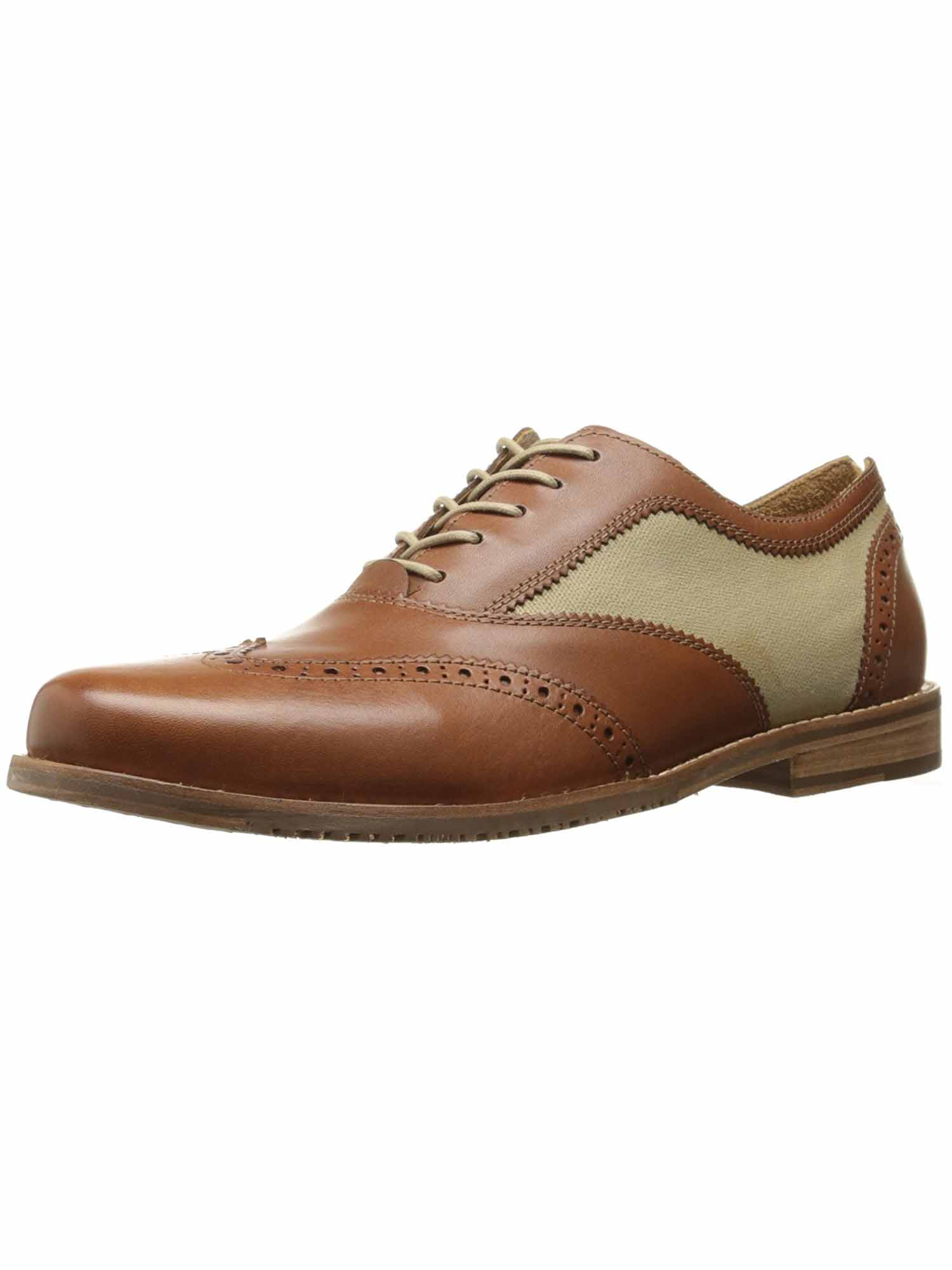 Tommy Bahama Mens Felman Wingtip Oxford Shoes (Whiskey, 8.5) by