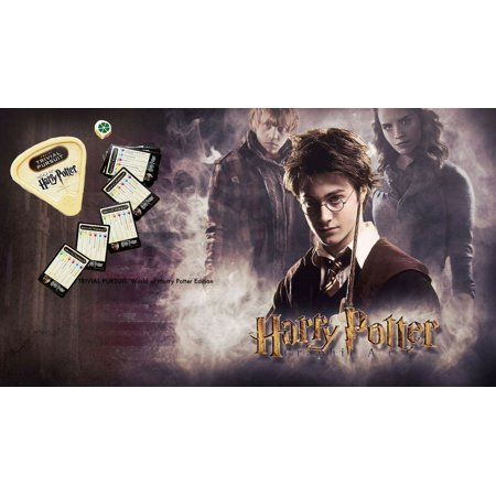 Harry Potter Trivia TRIVIAL PURSUIT Special Edition Gift Fans New in (Best Version Of Trivial Pursuit)