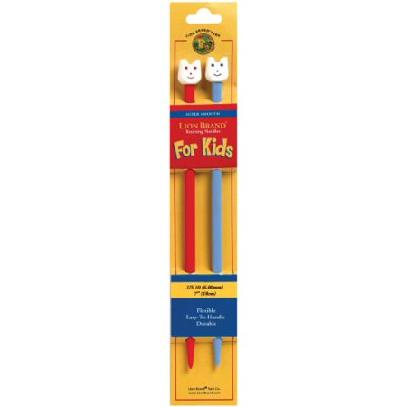 Lion Brand 7 Inch, Size 10 Knitting Needles for (Best Knitting Needles For Kids)