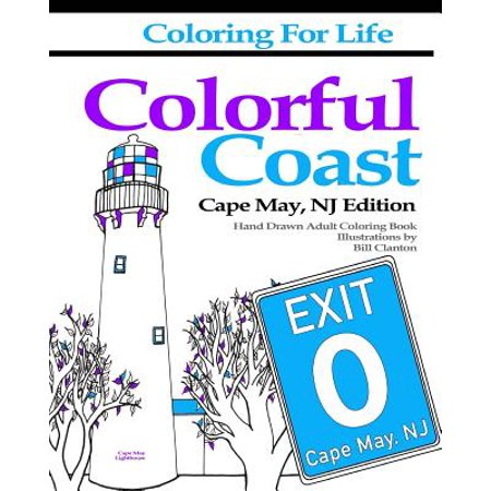 Coloring for Life : Colorful Coast Cape May, NJ (Motels In Cape May Court House Nj)