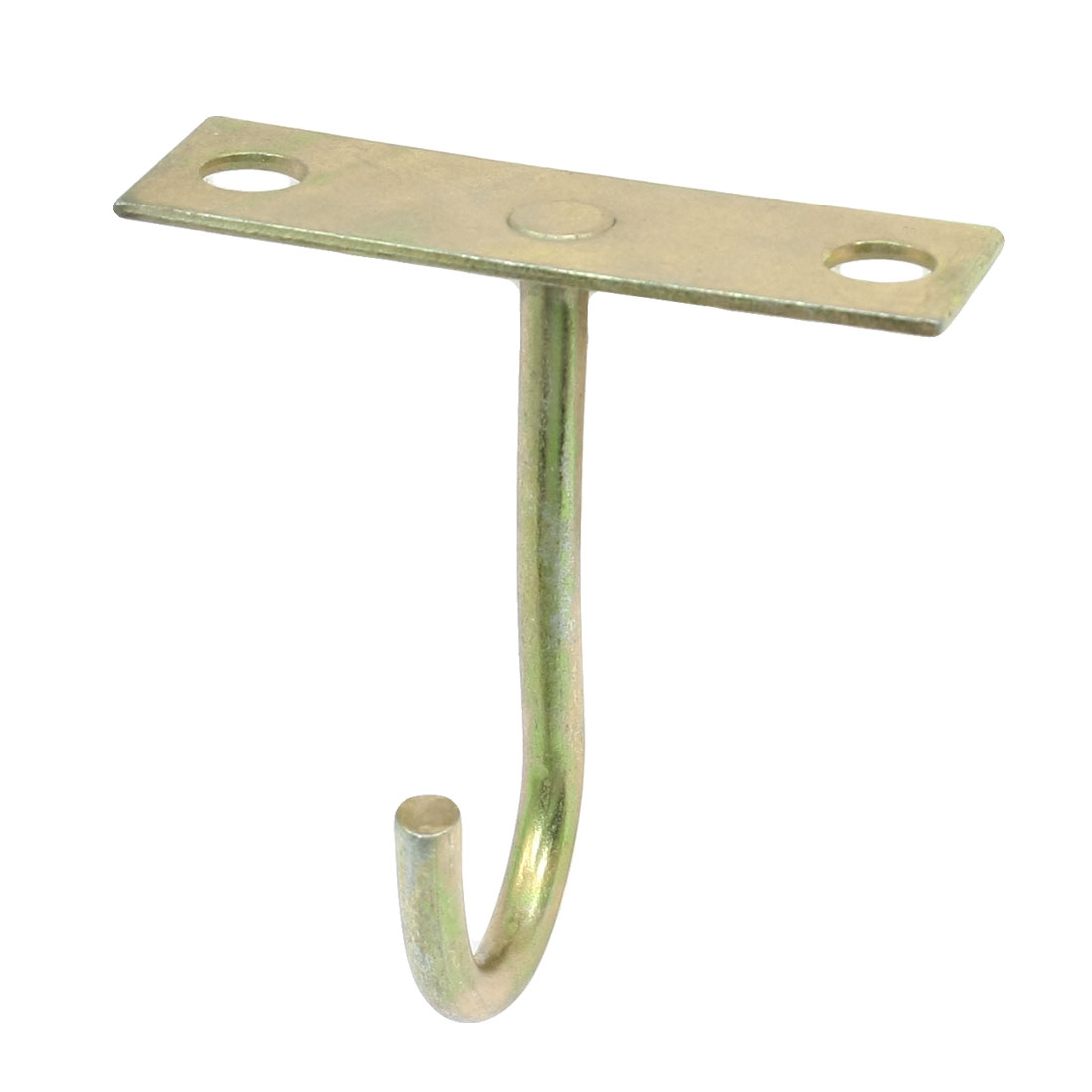 Unique Bargains Opened Hanger Ceiling Top Mounted Hook For