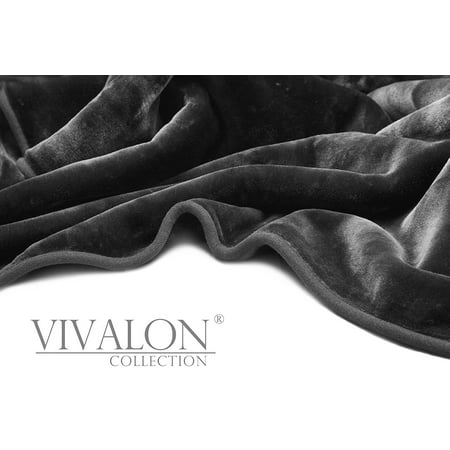 Vivalon Ultra Soft Korean Mink Blanket Queen Dark - Star Mink Blanket